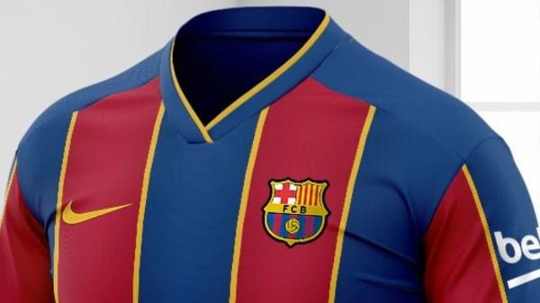 barcelona camiseta 2020 2021