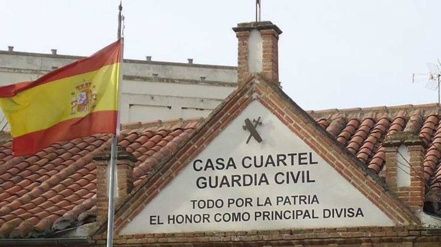 todo por la patria guardia civil